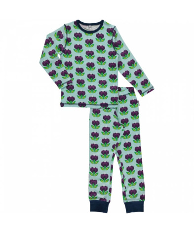 Maxomorra Pyjamas Set LS Crocus