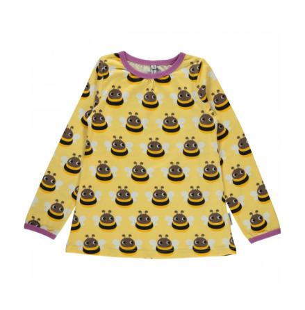 Maxomorra Top A-line LS Bumblebee
