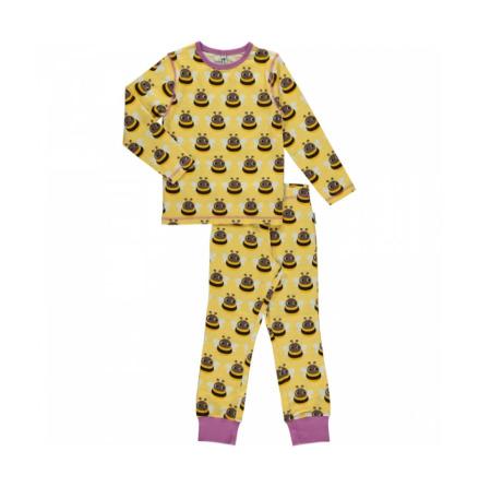 Maxomorra Pyjamas Set LS Bumblebee