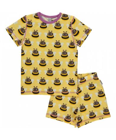 Maxomorra Pyjamas Set SS Bumblebee