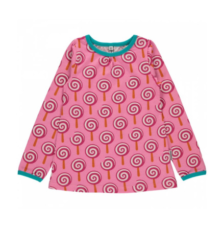 Maxomorra Top A-line LS Lollypop