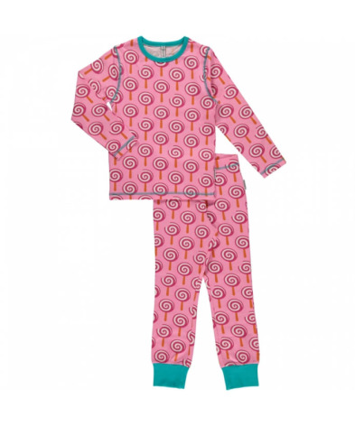 Maxomorra Pyjamas Set LS Lollypop