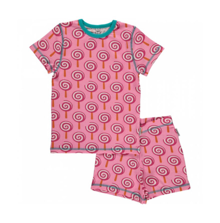 Maxomorra Pyjamas Set SS Lollypop