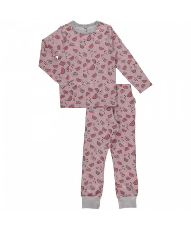 Maxomorra Pyjamas Set LS Watermelon Love