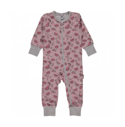 Maxomorra Pyjamas LS Watermelon Love