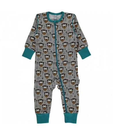 Maxomorra Pyjamas LS Little Arrow Monkey