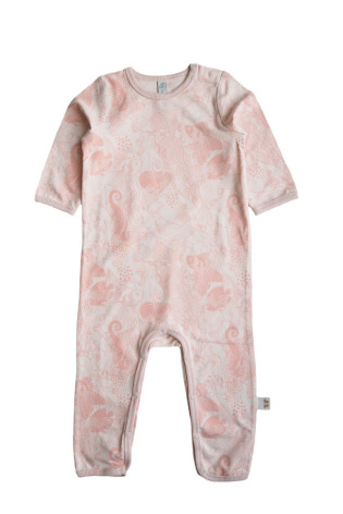 By Heritage Malte Playsuit Coral Pink