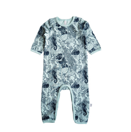 By Heritage Malte Playsuit Navy Blue