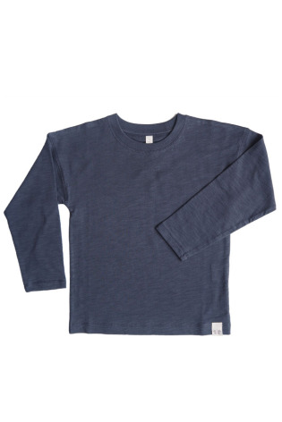 By Heritage Ted Top Solid Navy Blue