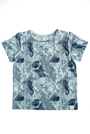 By Heritage Tom Top print Navy Blue