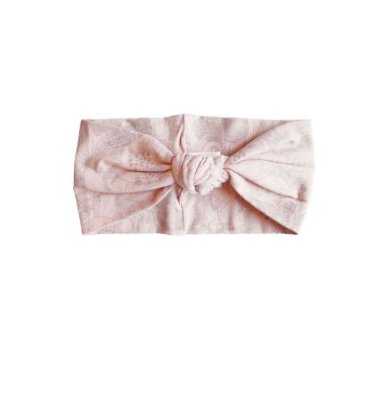 By Heritage Minna Hårband Vintage Pink