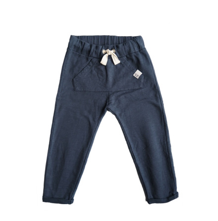 By Heritage Isak Trousers Navy Blue