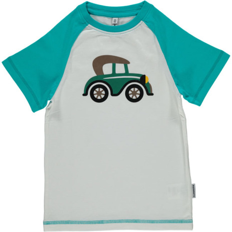 Maxomorra Top SS Print Veteran Car