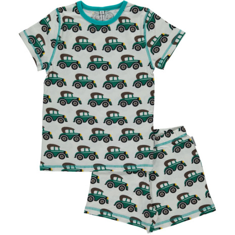 Maxomorra Pyjamas Set SS Veteran Car