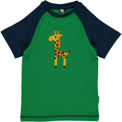 Maxomorra Top SS Print Giraffe