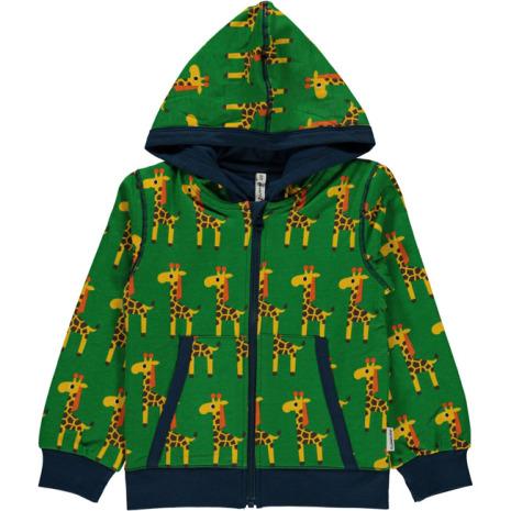 Maxomorra Cardigan Hood Giraffe
