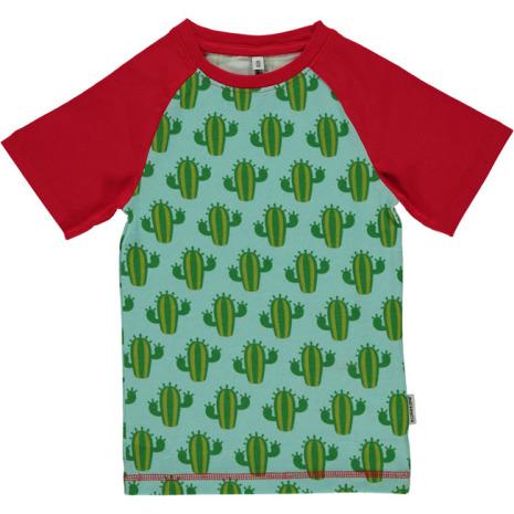 Maxomorra Top SS Slim Cactus