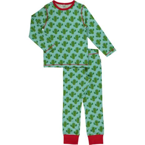 Maxomorra Pyjamas Set LS Cactus