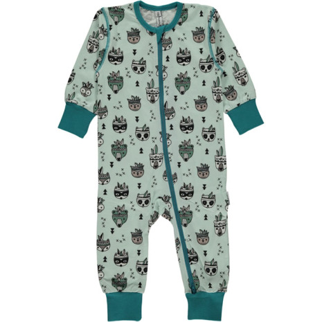 Maxomorra Pyjamas LS Animal Mix