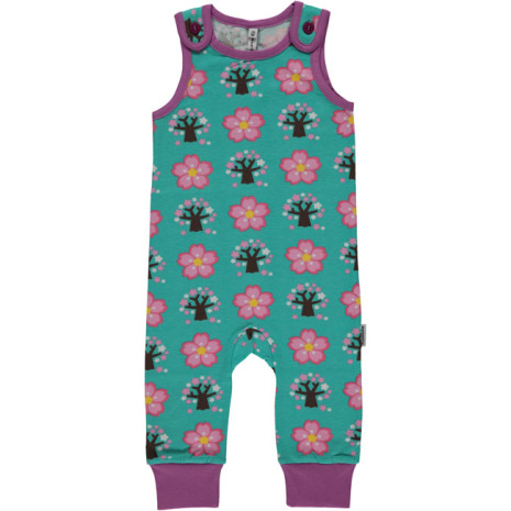 Maxomorra Playsuit Cherry Blossom