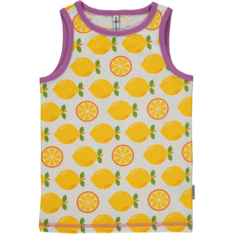 Maxomorra Tank Top Lemon