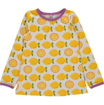 Maxomorra Top A-line LS Lemon