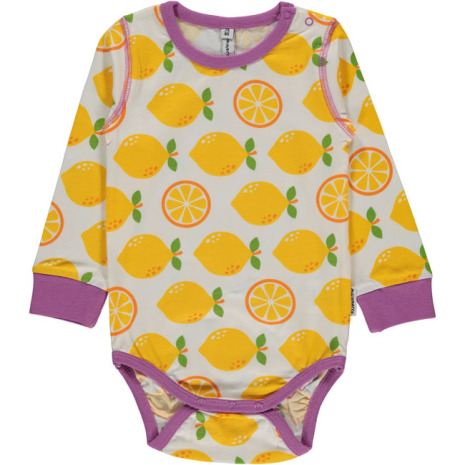 Maxomorra Body LS Lemon