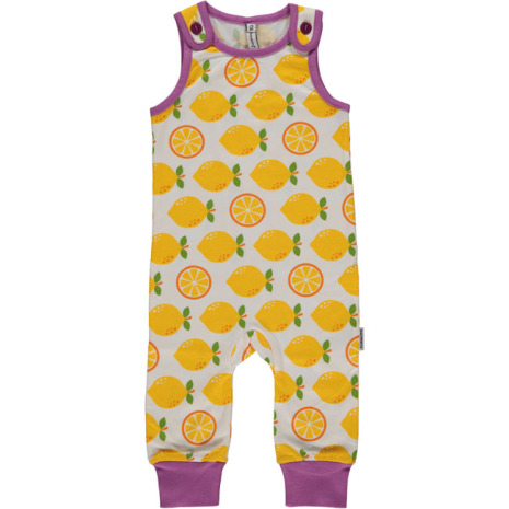 Maxomorra Playsuit Lemon
