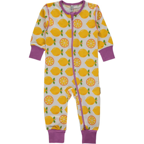 Maxomorra Pyjamas LS Lemon