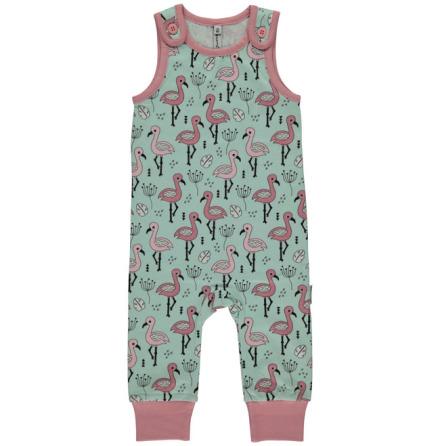 Maxomorra Playsuit Sweet Flamingo