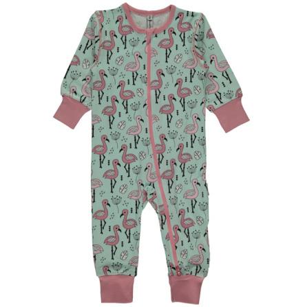 Maxomorra Pyjamas LS Sweet Flamingo