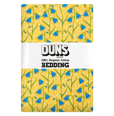 DUNS 2-del Bäddset Junior Bluebells Yellow