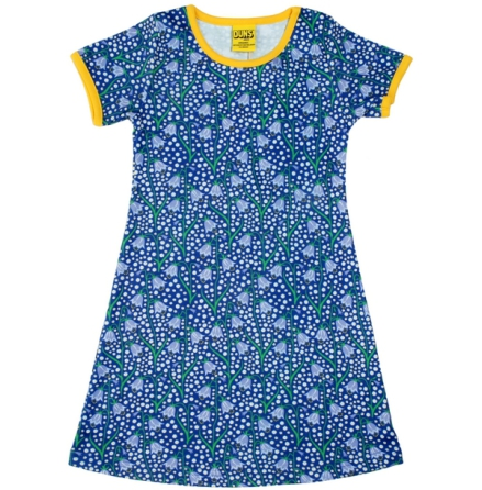 Duns Dress Bluebells Blue