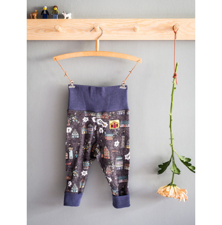 Modeerska Huset Babyleggings Night City
