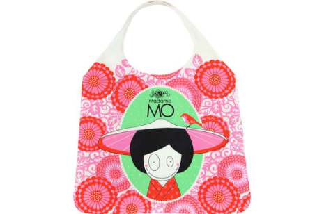 Madame Mo - Shopping bag Green