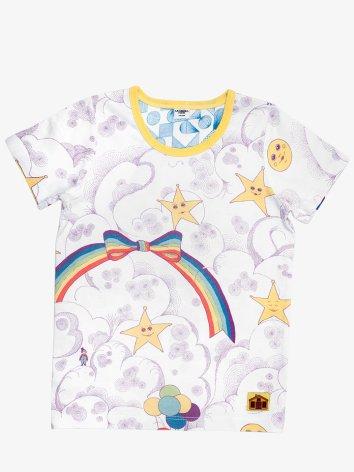 Modeerska Huset T-shirt Starry Sky