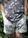 Modeerska Huset Shorts Monkey Business