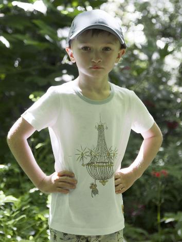 Modeerska Huset T-shirt Monkey Business