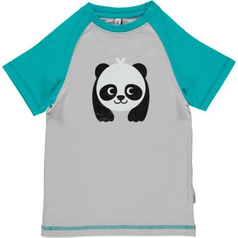 Maxomorra Top SS Print Panda