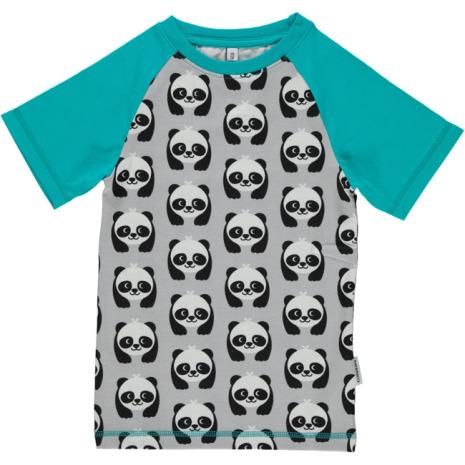 Maxomorra Top SS Slim Panda