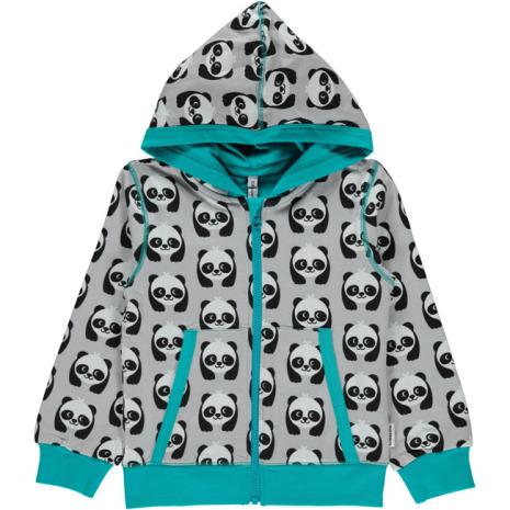 Maxomorra Cardigan Hood Panda