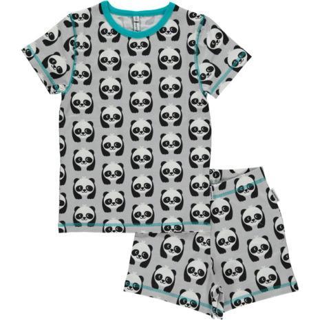 Maxomorra Pyjamas Set SS Panda