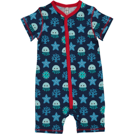 Maxomorra Pyjamas SS Deep Sea