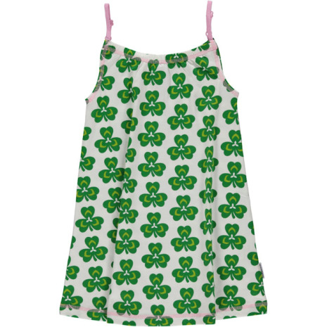 Maxomorra Spaghetti Dress Clover