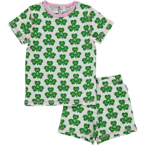 Maxomorra Pyjamas Set SS Clover
