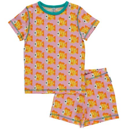 Maxomorra Pyjamas Set SS Goldfish