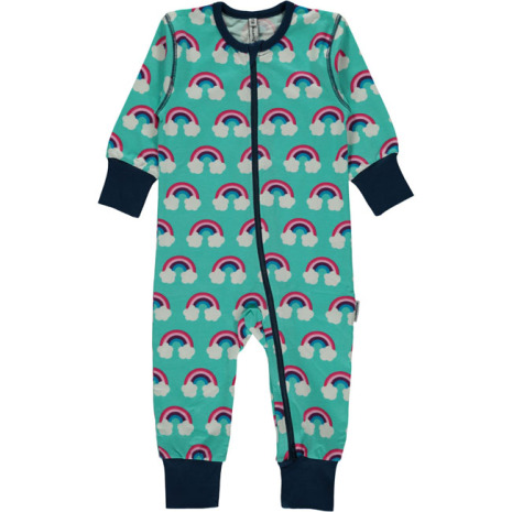 Maxomorra Pyjamas LS Rainbow