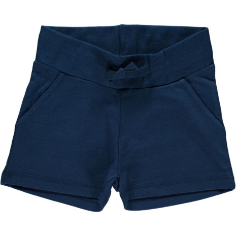 Maxomorra Sweatshorts Dark Blue