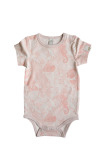 By Heritage Nils Body Print Coral Pink