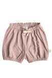 By Heritage Lea Shorts solid vintage pink